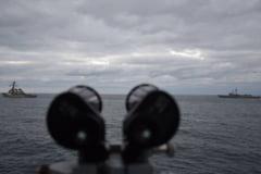 Exercitiul NATO din Marea Neagra cu fregata Regina Maria, spionat de armata rusa