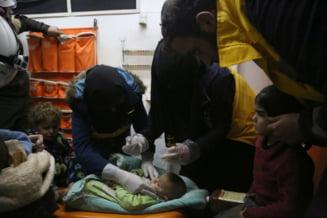 Exista indicii ca in atacul chimic din Siria s-a folosit sarin