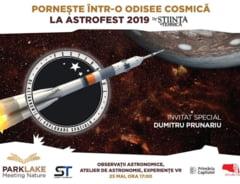 Experimente amuzante, concursuri si telescoape foarte mari, sambata, la Festivalul astronomiei si stiintelor spatiului