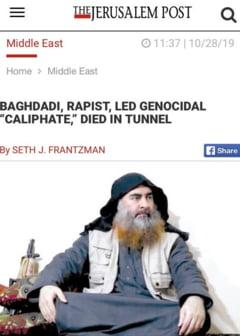 Expert in Orientul Mijlociu: Al-Baghdadi este aproape de neinlocuit pentru Statul Islamic