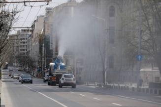 Experti: Dispersarea de dezinfectanti in aer nu este eficienta impotriva COVID-19 si pune in pericol sanatatea oamenilor