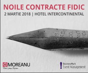Expertii MOREANU Law si specialistii in domenii conexe analizeaza principalele modificari aduse de noile Contracte FIDIC