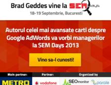 Expertul in publicitate online, Brad Geddes, vin in Romania la SEM Days 2013