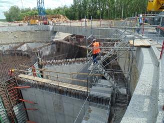 Explicatiile constructorilor de la podul peste Dunare despre stadiul lucrarilor