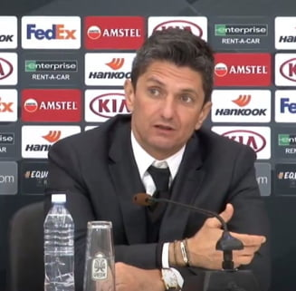 Explicatiile lui Razvan Lucescu dupa eliminarea rusinoasa din Europa League