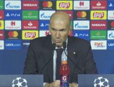 Explicatiile lui Zidane dupa ce Real Madrid a pierdut clar la Paris