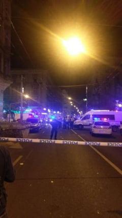 Explozia de sambata din centrul Budapestei a fost provocata de o bomba