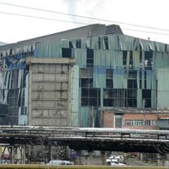 Explozie in combinatul siderurgic de la Hunedoara