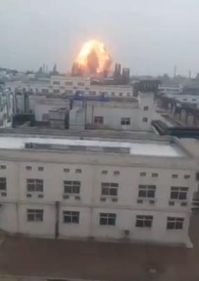Explozie intr-o uzina din China: Numarul mortilor a ajuns la 44 (Video)