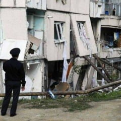 Explozie intr-un apartament din Calarasi