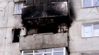 Explozie intr-un bloc din Bumbesti Jiu: trei raniti si zece garsoniere afectate