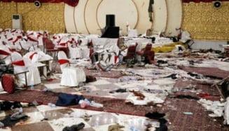 Explozie intr-un salon de nunti: Cel putin 63 de oameni au murit si 180 sunt raniti