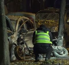 Explozie la Kiev: Printre victime se numara si un parlamentar (Video)