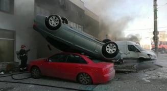 (VIDEO) Explozie puternică la Galați  |Explozie Galati