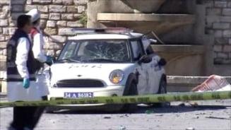 Explozie langa o masina de politie, la Istanbul - zece raniti