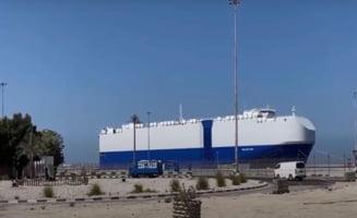 """Explozie pe o nava comerciala israeliana. Premierul Netanyahu: """"Este evident un act al Iranului"""""""