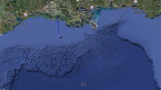 Explozie pe o platforma petroliera din Golful Mexic
