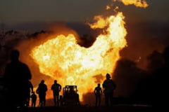Explozie pe platoul de filmare al unui film de razboi: 5 morti