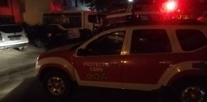 Explozie puternica, noaptea trecuta, intr-un apartament din Alexandria