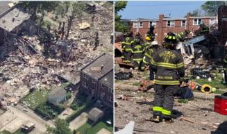 Explozie puternica in Baltimore. Cel putin o persoana a murit, iar mai multi oameni sunt prinsi sub daramaturi