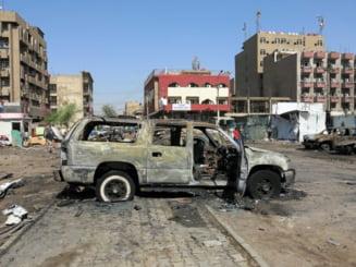Explozii ucigase, in Bagdad, in ultima zi a anului: 28 de oameni au murit si 50 au fost raniti