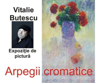 """Expozitia de pictura """"Arpegii cromatice"""", la Galeria Artis Slatina"""