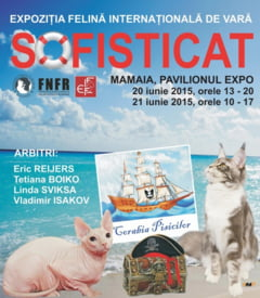 Expozitie Internationala Felina, in weekend, in statiunea Mamaia