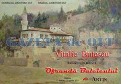 Expozitie Vitalie Butescu la Slatina