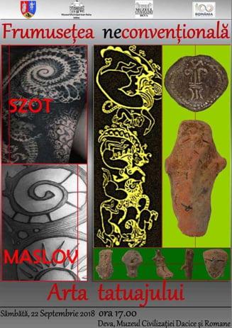 Expozitie de arta a tatuajului, vernisata la muzeul din Deva