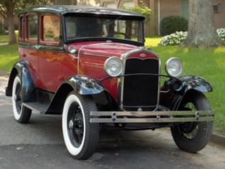 Expozitie de masini de epoca, in Bucuresti