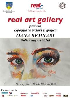 Expozitie de pictura si grafica la Centrul Cultural Bucovina