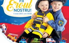 Expozitie de tehnica de lupta si jocuri pentru copii de Ziua Internationala a Copilului