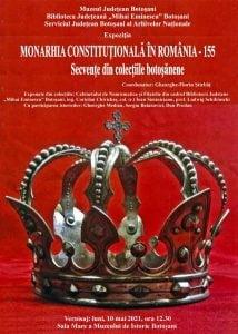 """Expozitie despre vremurile in care in tara asta chiar se construia: """"Monarhia constitutionala in Romania - 155"""""""