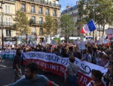 Extrema stanga protesteaza la Paris fata de reformele lui Macron: Exista foarte multa furie