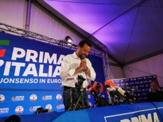 Extremistul Salvini isi consolideaza acapararea Guvernului dupa alegerile de ieri
