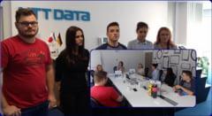 FAIN ASA: Elevii din Sibiu invata IT de la cei mai buni in domeniu