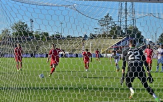 """FC Arges - Chindia, remiza alba. Popa a ratat un penalti. Sandoi: """"Daca am fi marcat, cred ca balanta se inclina la final in favoarea noastra"""""""