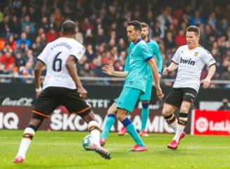 FC Barcelona, invinsa in Primera Division