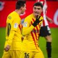 FC Barcelona, victorie spectaculoasa la Bilbao. Messi a marcat doua goluri