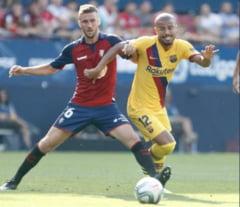 FC Barcelona a calcat stramb in Primera Division