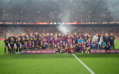 FC Barcelona a cucerit al 26-lea campionat din istorie. Leo Messi, din nou stralucitor (Video)