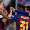 FC Barcelona a facut spectacol si in inferioritate numerica. Victorie clara in deplasare, cu Messi si Ansu Fati stralucitori
