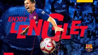 FC Barcelona a platit clauza de reziliere a unui fundas francez - oficial
