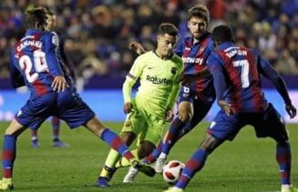FC Barcelona a suferit o infrangere neasteptata