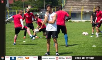 FC Hermannstadt - FC Viitorul, scor 2-0, in play-out-ul Ligii I