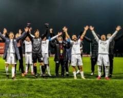 FC Rapid viseaza la promovarea in Liga 1. Victorie la limita cu rivala Universitatea Cluj