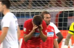 FCSB, anchetata de UEFA dupa meciul cu Hajduk Split