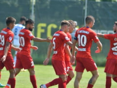 """FCSB, dezlantuita in primul amical al verii. Capitanul Tanase si """"perla"""" Tavi Popescu, printre marcatori"""
