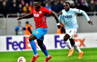 FCSB, eliminata din Europa League dupa o infrangere la scor pe terenul lui Lazio Roma