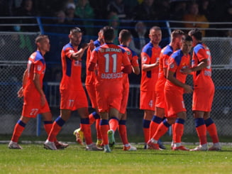 FCSB, la un pas să piardă calificarea în Cupa României după ce a condus cu 3-0 la Hunedoara! Incredibil cât s-a terminat meciul